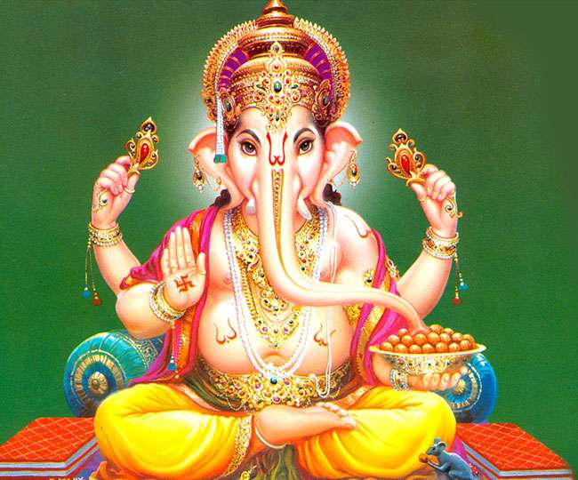 Ganesh Mantra Lyrics in Hindi
