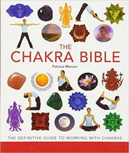 The chakra bible- best book for learning chakras